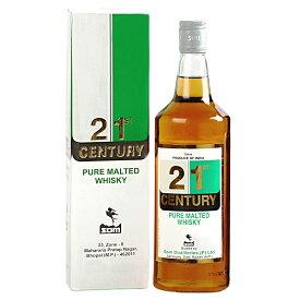 センチュリー ピュアモルテッド ウイスキー 750ml 42.8度 正規輸入品 箱付 21st Century Pure Malted Whisky インド産ウイスキー kawahc (※グレーン等も入っています)