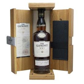 グレンリヴェット 25年 700ml 43度 正規代理店輸入品 木箱 ザ・グレンリベット The Glenlivet 25years スペイサイドモルト シングルモルトウイスキー ウヰスキー SpeysideMalt Single Malt Scotch Whisky kawahc