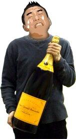 ヴーヴクリコ イエローラベル・ジェロボアム 3L (3000ml) ダブルマグナム木箱付 正規代理店輸入のルイヴィトングループのシャンパン VEUVE CLICQUOT BRUT wine Campagne kawahc