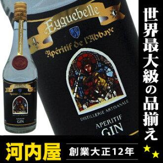 Eguber 杜松子酒 700 毫升 40 度 (Eyguebelle 开胃酒德酒店杜松子酒) eguber eguvel 杜松子酒 kawahc