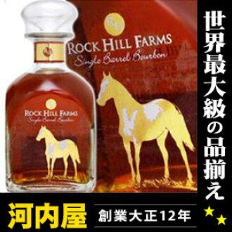 Rock Hill farms 750 ml 50 ° Bourbon whiskey awahc