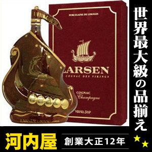 ラーセン マーブル ルビーシップ 700ml 40度 箱付 (Larsen Marble Ruby Viking Ship Fine Champagne Cognac) ラーセン マーブル ルビーシップ ルビー ブランデー コニャック kawahc