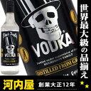 【ワケ有・若干のキャップ汚れ】 ブラックデス ウォッカ 700ml 37.5度 (Black Death Vodka) kawahc