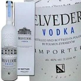 ベルヴェデール ウォッカ ダブルマグナムボトル 3L (3000ml) 40度 正規輸入品 ポーランドウオッカ ベルベデール Belvedere vodka naturally smmth poland kawahc