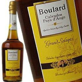 ブラー グランソラージュ 700ml 40度 Boulard Grand Solage カルヴァドス Calvados リンゴのブランデー カルバドス 林檎のお酒 Pays d'Auge kawahc