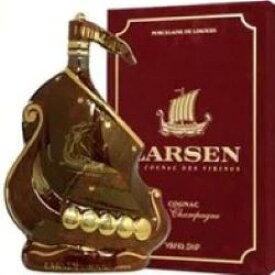 ラーセン マーブル ルビーシップ 700ml 40度 箱付 (Larsen Marble Ruby Viking Ship Fine Champagne Cognac) ラーセン マーブル ルビーシップ ルビー ブランデー コニャック kawahc 御中元 sale セール お中元 セール価格 お取り寄せグルメ
