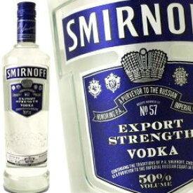 スミノフ ウォッカ ブルー 750ml 50度 正規品 (Smirnoff Triple Distilled Vodka) kawahc 父の日ギフト お誕生日プレゼント にオススメ