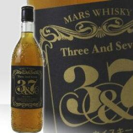 本坊酒造 マルスウイスキー 3&7 (スリー&セブン) 720ml 39度 正規 ウィスキー kawahc 父の日ギフト お誕生日プレゼント にオススメ