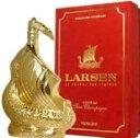ラーセン ゴールデン スカルプチャー (ゴールド) 700ml 40度 箱付 (Larsen Golden Sculpture Viking Ship Fine Champa…