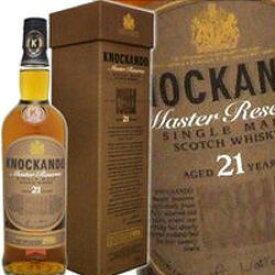 ノッカンドゥ 21年 マスターリザーヴ 700ml 43度 箱付 knockando 21 years MASTERRESERVE スペイサイド地区シングルモルト SpeysideMalt Single Malt Scotch Whisky kawahc ※画像と違い現行品での入荷となります。