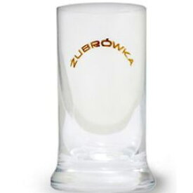 うまさ倍増!更に洋酒が旨くなるグラス! ズブロッカ・ショットグラス 1個 グラスサイズ:直径・約3.5cmX高さ・約8cm kawahc
