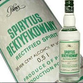 スピリタス ウォッカ 500ml 96度 正規輸入品 世界最強 スピリタスウォッカ Spirytus Vodka ウオッカ Polish Vakka 世界最強のアルコール度数96度のウォッカ Polmos Warsaw kawahc ※おひとり様1本限り