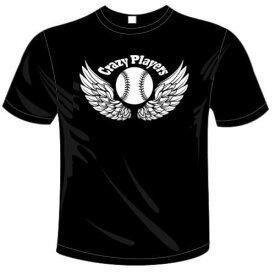 志田様専用オリジナルTシャツ「クレイジープレイヤーズ野球Tシャツ」