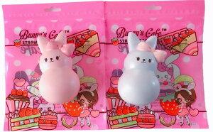 海外スクイーズ Bunny's Cafe バニーズカフェ バニーマシュマロスクイーズ 食べ物 ケーキ 海外 輸入 玩具 おもちゃ 雑貨 低反発 可愛い かわいい 女の子 プレゼント 贈り物 おすすめ 原宿 人気