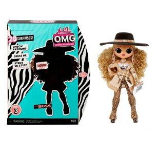 7月27日より順次発送最新作 L.O.L. Surprise! O.M.G. Da Boss Fashion Doll シリーズ3OMG lol ギフト 誕生日 玩具 ホビー かわいい ドール 人形 LOLサプライズ lolサプライズ エルオーエルサプライズ おもちゃ