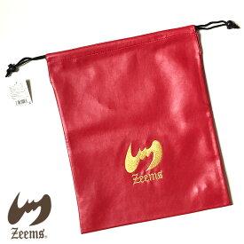 ジームス 野球 グラブ袋 グローブ袋 グローブ入れ ZGB-1200RG レッド× ゴールド ポイント消化 メール便対応