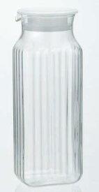 IWAKI(AGCテクノグラス) 角型サーバー(ホワイト)冷水筒