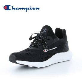 チャンピオン スニーカー レディース ビーンズ フォーム RUSH2 ACT010 ブラック黒 CHAMPION BEANS FORM RUSH2 ACT010 BLACK