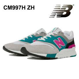 ニューバランス スニーカー メンズ レディースCM997H ZH GRAY/VERDITE newbalance CM997H ZH 三浦大知 DAICHI MIURA 送料無料