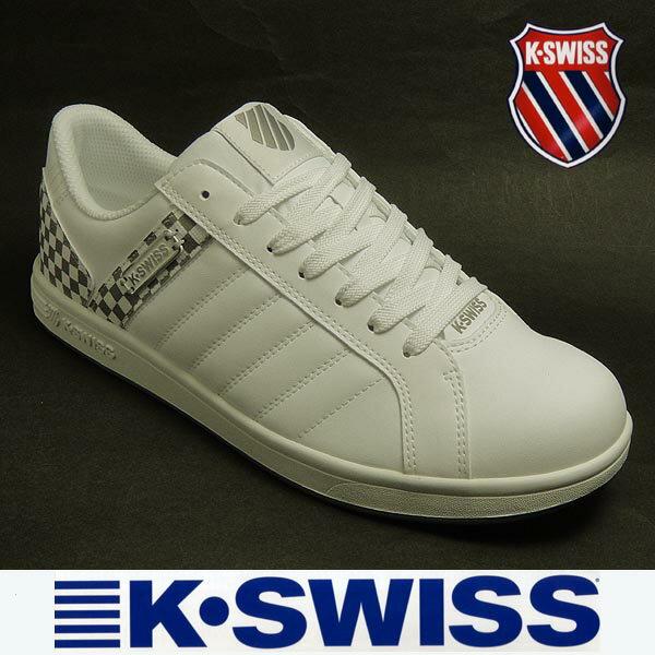 【送料無料】ケースイス メンズスニーカー KSL03 ホワイト白 k-swiss