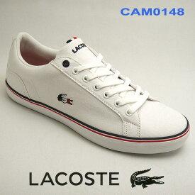 ラコステ スニーカー メンズ キャンバス LEROND 218 1 QSP ホワイト/ホワイト 白 lacoste cam0148 21G 【10%OFF】靴シューズ 送料無料