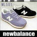 ニューバランス レディーススニーカー WL501 ブルー ブラック newbalance WL501 CVB CVC 【10%OFF】【送料無料】