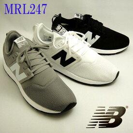 ニューバランス スニーカー メンズ MRL247 グレー ホワイト 白 ブラック 黒 newbalance MRL247 GW WB BG 【セール】