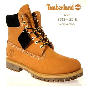 ティンバーランド ブーツ 45周年 シックスインチプレミアム A1VXW ウィートヌバック TIMBERLAND 6premium boot 45th anniversary メンズ heritage