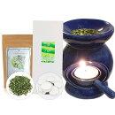 【送料無料】届いてすぐに使える茶香炉&ローソク&茶葉セット