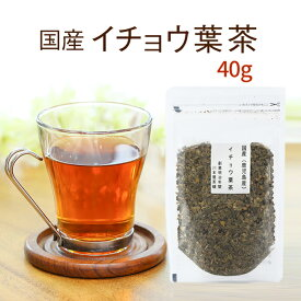 イチョウの葉茶 いちょう茶 国産健康茶 鹿児島県産 40gイチョウの健康茶純国産のいちょうの葉茶イチョウ【送料無料 ネコポス】