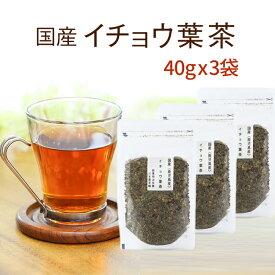 いちょう茶 イチョウの葉茶 【鹿児島産】 40g×3セットイチョウの健康茶純国産のいちょうの葉茶イチョウ イチョウ葉茶【送料無料】