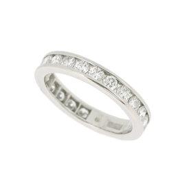 【中古】ミキモト エタニティリング PT900 プラチナ ダイヤモンド1.15ct 指輪 9号 3.7g フルエタニティ MIKIMOTO