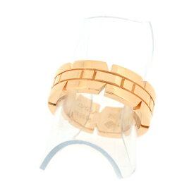 【中古】カルティエ タンクフランセーズ リング K18PG ピンクゴールド 指輪 8号 #48 7.9g Cartier