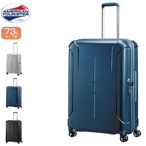 スーツケース 73リットル SAMSONITE サムソナイト American Tourister アメリカンツーリスター アメリカンツーリスター史上、最大級の収納力。ボックス型のハードケースコレクション TECHNUM テクナ