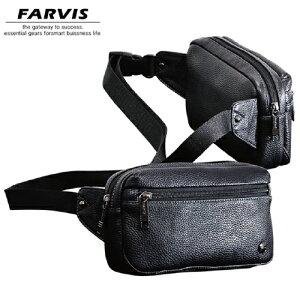 ウエストポーチ FARVIS HOLIDAY ファービス ホリデー メンズバッグ 4-362 ブラック