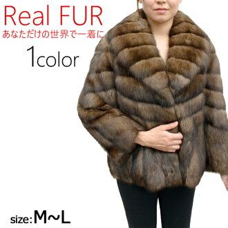 Fur jacket Womens fur Russian Sable jacket 3695