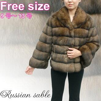 Sable jacket Womens fur Russian Sable jacket 3693 natural fur, luxury furs, women's furs, Sable fur