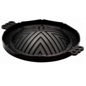 ジンギスカン鍋 浅型 28cm 南部鉄器 池永