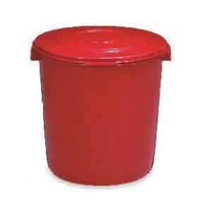 みそ容器 25型 押しフタ付 味噌 樽 プラスチック 新輝合成 トンボ シールタイプ【沖縄・離島不可】