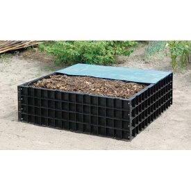 堆肥枠 A-12 角型 容量550リットル【組立式】 たいひわく【沖縄・離島不可】
