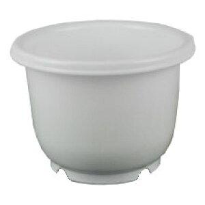 【数量限定】プラ鉢ポット 丸型5号 ホワイト アウトレット【在庫限り】【沖縄・離島不可】