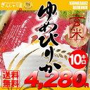 28年産 北海道産 ゆめぴりか 玄米 10kg (5kg×2袋セット)<玄米/白米/分づき米>【送料無料】【北海道米 送料込み 米 お米 真空パック選択可】