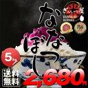 29年産 北海道産 ななつぼし 5kg <白米>【送料無料】【北海道米 送料込み 米 お米 真空パック選択可】
