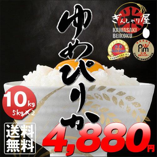 新米 30年産 北海道産 ゆめぴりか 10kg (5kg×2袋セット)<白米> 【送料無料】【北海道米 送料込み 米 お米 真空パック選択可】
