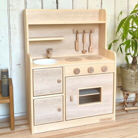 木製ままごとキッチン Tipp Tapp DXナチュラル