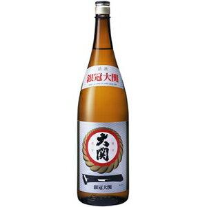 【日本酒一升瓶】大関株式会社 大関 銀冠1800ml※6本購入で送料無料※一部の地域は送料無料対象外となります<瓶清酒><普通酒>日6B[1711YF][UN]