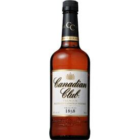 カナディアンクラブ 40度(正規品)700ml※12本まで1個口配送可能<瓶洋酒><ウイスキー>[1707YF][UN]