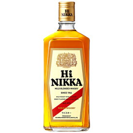 ニッカ ハイニッカ 39度(正規品)720ml※12本まで1個口配送可能<瓶洋酒><ウイスキー>[1707YF][UN]