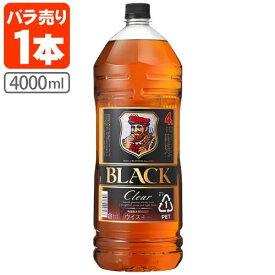 アサヒ ニッカ ブラックニッカ クリア 37度 4000ml(4L)※4本まで1個口で配送が可能ですウイスキー ジャパニーズウイスキー 国産ウイスキー Black NIKKA Clear 黒 [T.001.4279.1.SE]
