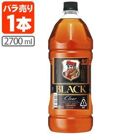 アサヒ ブラックニッカクリア 37度 2700ml(2.7L)※6本まで1個口で配送が可能ですウイスキー ジャパニーズウイスキー 国産ウイスキー Black NIKKA Clear 黒 [T.001.3374.1.SE]
